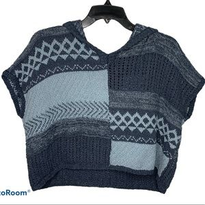 Abercrombie and Fitch Kids 11 12 Poncho Knit